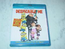 Despicable Me Blu-Ray (2D/3D, DVD. 2013, 3-Disc Set)