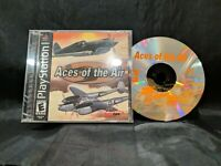 Aces of the Air (Sony PlayStation 1, 2002) PS1 Black Label Complete
