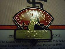 SAN FRANCISCO GIANTS - 1989 MVP Kevin Mitchell Pin by Chevron - NIP