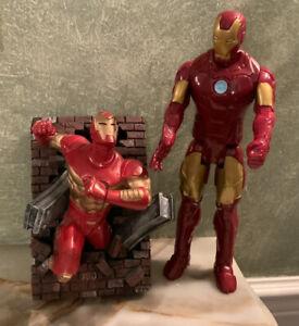 Limited Edition Creative License Marvel Iron Man wall sculpture + bonus