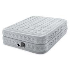 Intex Dura haz Plus Supremo durable de flujo de aire colchón de la cama con fibra Tech, Reina