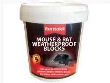 Rentokil Psmr41 Mouse & Rat Weatherproof Blocks Tub of 5