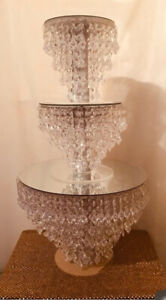 Cake Stand | Chandelier Cake Stand | Crystal Cake stand For Wedding | Single