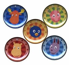 Backyardigans: Set of 5 Buttons-Pins-Badges | Birthday Party Supplies