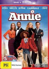 ANNIE (DVD, 2015) JAMIE FOXX, QUVENZHANE WALLIS, ROSE BYRNE, CAMERON DIAZ - NEW