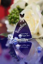 Wedding Table Place Setting Mirror acrylic DRESS shape/Birthday/Christmas