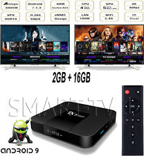 TX3 Mini 4K Android 9.0 Nougat WiFi Smart TV Box with KD 19.0 2G/16G S905W X96
