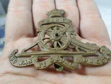 Canadian Army Hat Badge Royal Canadian Artillery Ubique Quo Fas et Gloria ducunt