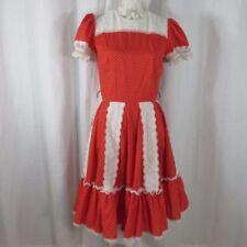 Ropa vintage de mujer original color principal rojo