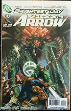 Brightest Day Green Arrow #10 VF NM- 1er Imprimé DC Comics