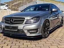 Mercedes W204 Lippe Frontansatz Diffusor Amg Line Paket C Klasse Frontspoiler