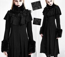 Cape Jacke Gothic Lolita Barock Burlesk Zierkragen Samt Spitze mystisch PunkRave