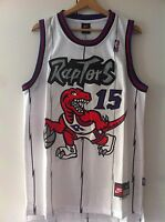 Canotta nba basket maglia Vince Carter jersey Toronto Raptors maglietta S/M/L/XL