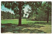 # 6 HOLE GREEN MID PINES CLUB Golfing Golf Southern North Carolina  Postcard