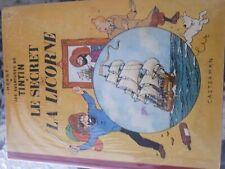 Hergé Tintin le Secret de la Licorne  française 2ème trim 1959 +++BE+++