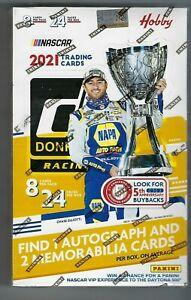2021 PANINI DONRUSS RACING HOBBY BOX NASCAR FACTORY SEALED
