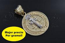 San Benito Medalla de Oro en 14k Garantizado!  2601