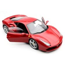 BBURAGO 1:18 FERRARI RACE & PLAY - 488 GTB Diecast Model Car Red Color 16008