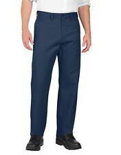 Dickies Mens Navy Industrial Flat Front Pants LP812NV