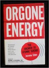 Jerome Eden~ORGONE ENERGY~SIGNED 1ST/DJ~NICE COPY