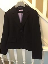 Blazer Patternless Cropped Coats & Jackets for Women