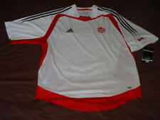 Canada National Team Soccer Jersey Adidas CSA Top Football Shirt Maglia Trikot