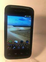ALCATEL ONETOUCH 983 OT-983 - Black (Unlocked) Smartphone Mobile