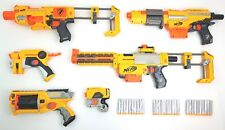 Nerf Guns Bundle Recon CS-6 Firestrike Barricade Alpha Trooper Maverick 30 Darts
