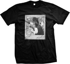 Bruce Lee Signature Action Movie Star Mens T-shirt