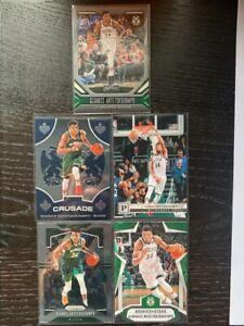 2019-20 Giannis Antetokounmpo MVP Panini Lot PRIZM, Crusade etc.. NBA Cards