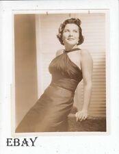 Kathi Norri sexy True Story Vintage Photo