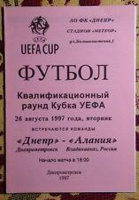 Russia Home Teams O-R Football Programmes