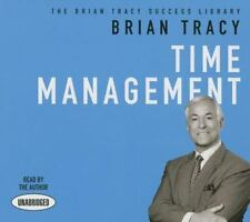 Time Management by Brian Tracy (2014, CD, Unabridged)