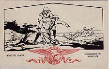 #MILITARI: GOT - EL - SASS- Cirenaica- MILIZIA NAZIONALE- 1927