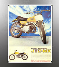 VINTAGE YAMAHA JT2-MX IMAGE BANNER NOS IMAGE REPRODUCTION