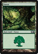 mtg Magic the Gathering 24 FOREST basic land lot card green mana mixed