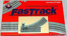 Lionel O36 FASTRACK Switch Left Hand Manual #6-12017
