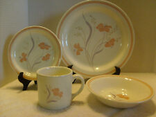 Majestic , Woodbury Royal China Co. 4 pc place setting, Made in the USA