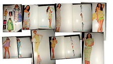 Vtg Brandi Quinones model clippings Vogue Italia 1995 Versace Atelier Gianni