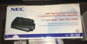 NEC 20-152 High Capacity Toner Cartridge New