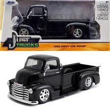 1952 Chevy Coe PICKUP TRUCK CHEVROLET NERO BLACK 1:24 Jada Toys 97462