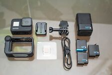 GoPro HERO8 Black Action Camera with Mod, Extra Batteries, and Charger