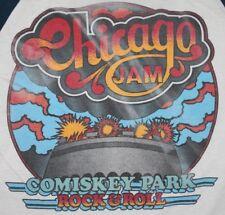 XS * vtg 70s 1979 CHICAGO JAM FESTIVAL t shirt * blondie beach boys rush 61.127