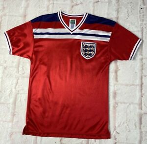 England Football Shirt 1982 Reproduction By Score Draw Size Small