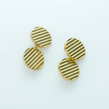 Tiffany & Co. 14K Yellow Gold Vintage Cufflinks