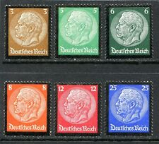 Germany Postage Stamps Scott 436-441, Mint, Superb Complete Set!! G1050