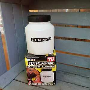 Total Painter Ersatz Farbbehälter Extra Paint Container für Sprühpistole 800ml