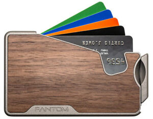 Fantom Wallet R 7 Slim Minimalist RFID Aluminum Wallet