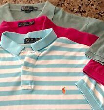 Polo Ralph Lauren Men's 2xl 2XLT Big Tall Blue Shirt Polo Embroidered Lot 101920
