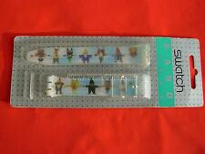 SWATCH CINTURINO x SPECIAL COLLECTOR GNOMANIA in BLISTER - GZ901 - 1997 strap
